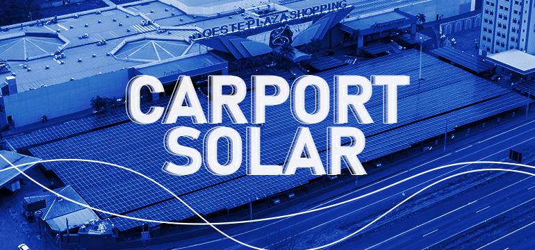 Carport solar: o estacionamento que gera energia
